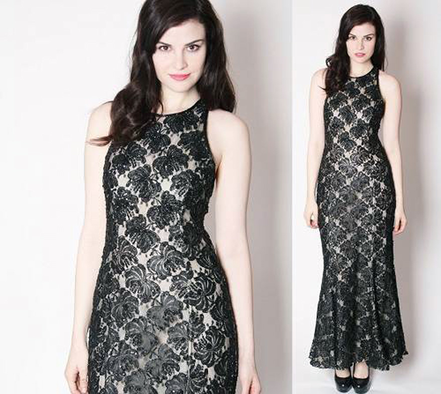 Lace Dinner Gowns 2013