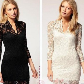Lace Dinner Gowns Images Pictures