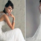 Lace Low Back Wedding Dress Styles Pictures