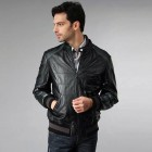 Leather Jacket Man Black Pictures