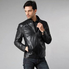 Leather Jacket Man Models Pictures