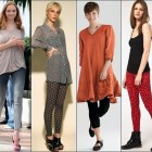 Legging Wear With Dress Casual Pictures