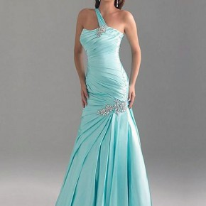 Light Blue Prom Dress Long Images Pictures