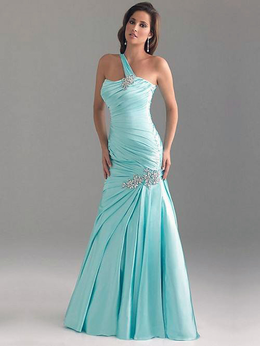 Light Blue Prom Dress Long Images - Inofashionstyle.com