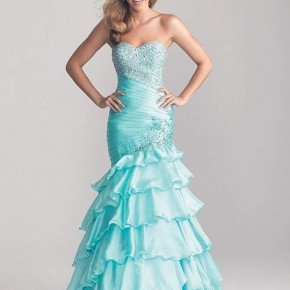 Light Blue Prom Dresses 2013 Pictures