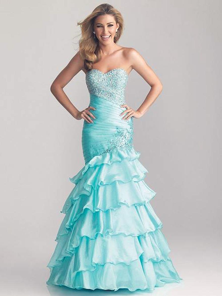 Light Blue Prom Dresses 2013 - Inofashionstyle.com