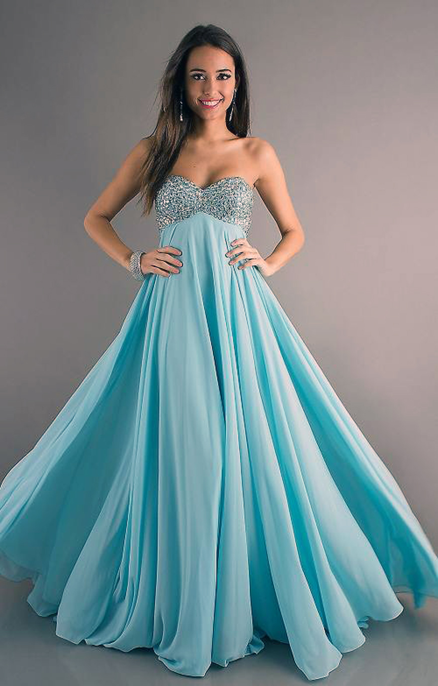 Light Blue Prom Dresses Long Pictures Fashion Gallery