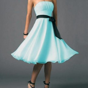 Light Blue Prom Dresses Short Pictures