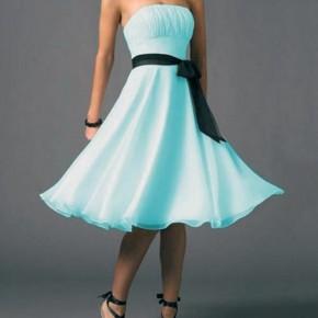 Light Blue Prom Dresses Short Pictures
