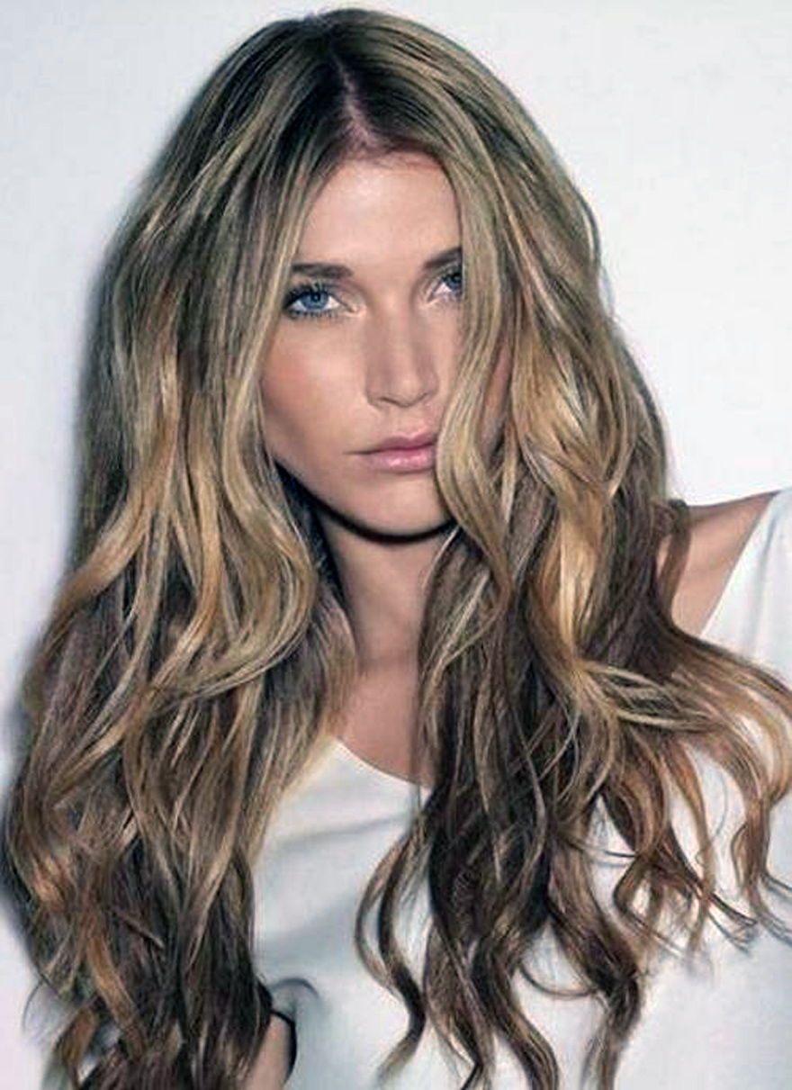 Light Brown Hair With Highlights Best