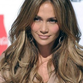 Light Highlights In Brown Hair Celebrity Pictures
