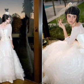 Long Corset Wedding Dresses 2013 Pictures