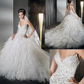 Long Corset Wedding Dresses Images Pictures