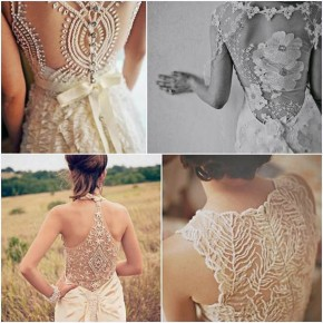 Long Dress With Lace Back Images Pictures