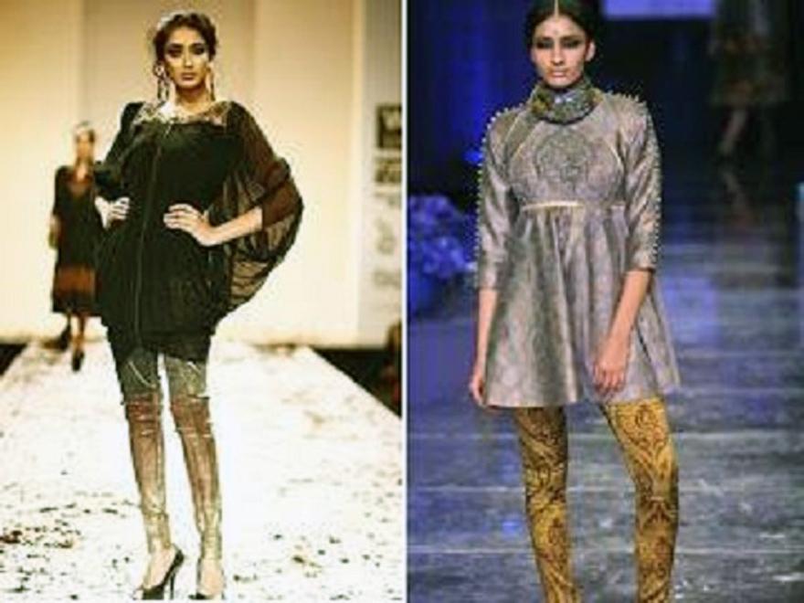 Long Dresses With Leggings Ideas
