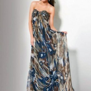 Long Formal Camo Dresses Cheap Pictures