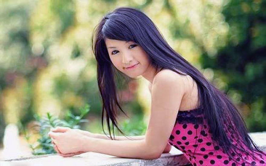 Long Hair Japanese Women Images
