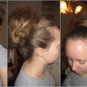 Long Hair Messy Updos Easy 2013 Pictures