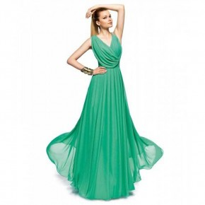 Long Prom Dresses Green Images Pictures