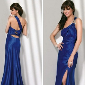 Long Prom Dresses One Shoulder For Women Pictures