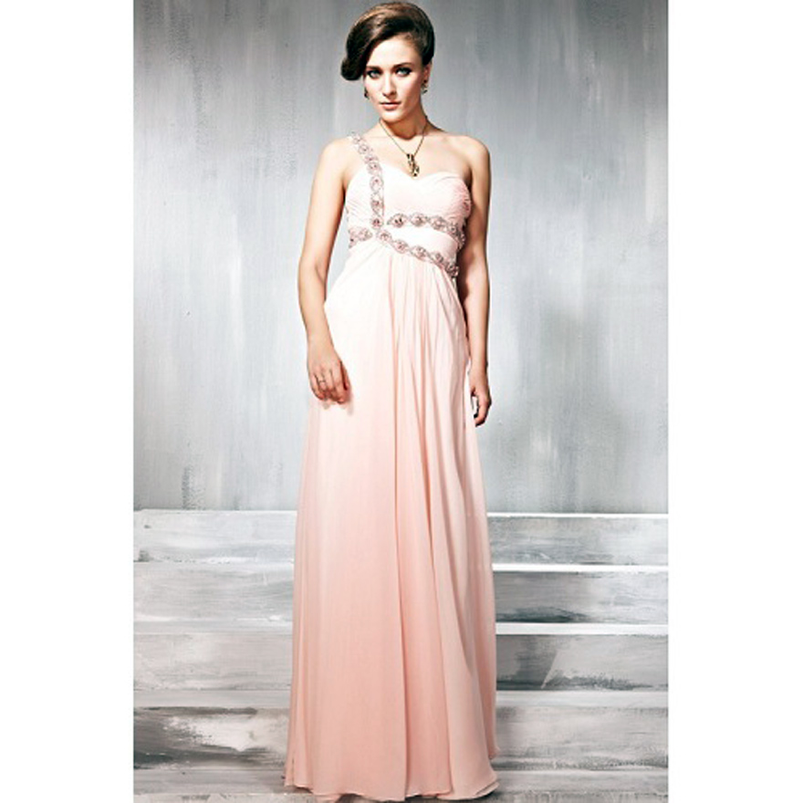 Long Prom Dresses One Shoulder Ideas