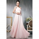 Long Prom Dresses One Shoulder Styles Pictures