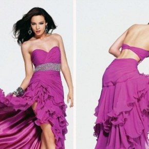 Long Prom Dresses Open Back Ideas Pictures