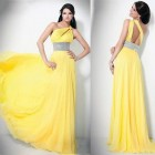 Long Prom Dresses Open Back Images Pictures