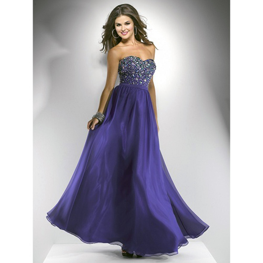 Long Purple Prom Dresses Under 100 Pictures : Fashion Gallery