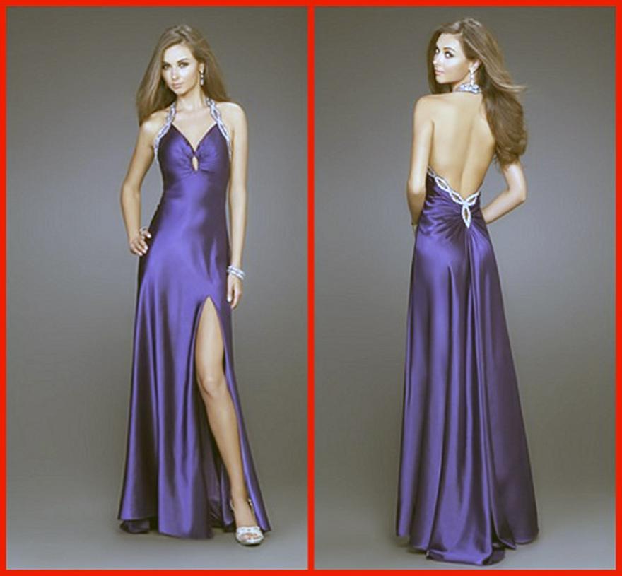 Wedding Gown Under 200: Long Purple Prom Dresses Under 200