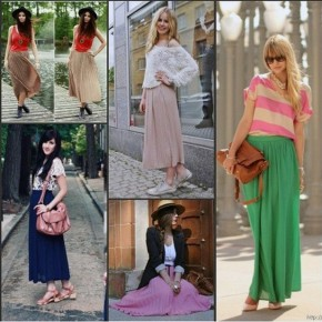 Long Skirts For Women 2013 Pictures