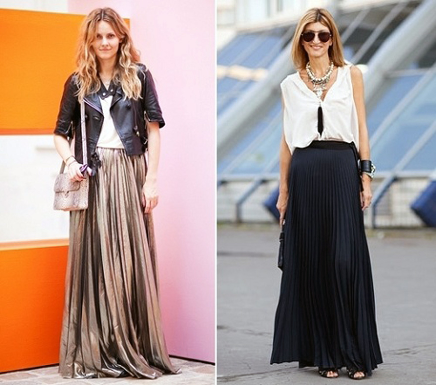 Long Spring Skirts Collections