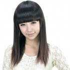 Long Straight Hair For Asians 2013 Pictures