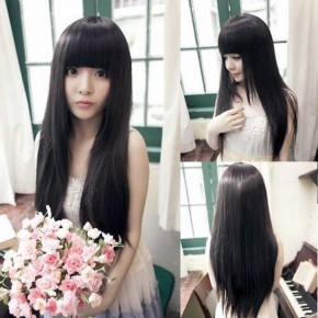 Long Straight Hair For Asians Images Pictures