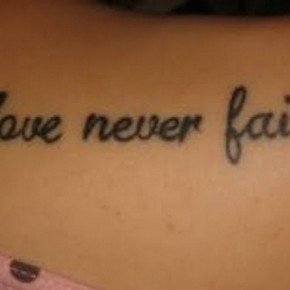 Love Quotes Tattoos For Girls Pictures