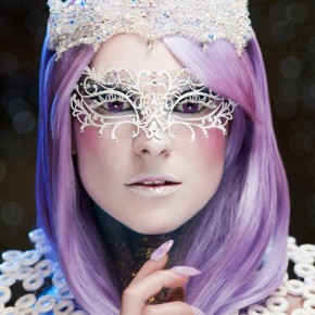 Make up Artist Choice - Crystal Calla Tiara