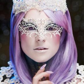 Make up Artist Choice - Crystal Calla Tiara