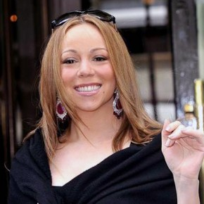 Mariah Carey Straight Hair 2013 Pictures