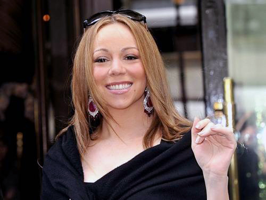 Mariah Carey Straight Hair 2013