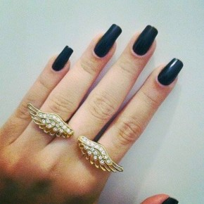 Matte Nail Polish Black Pictures