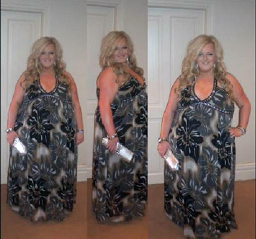 Maxi Dress Curvy Women Camo