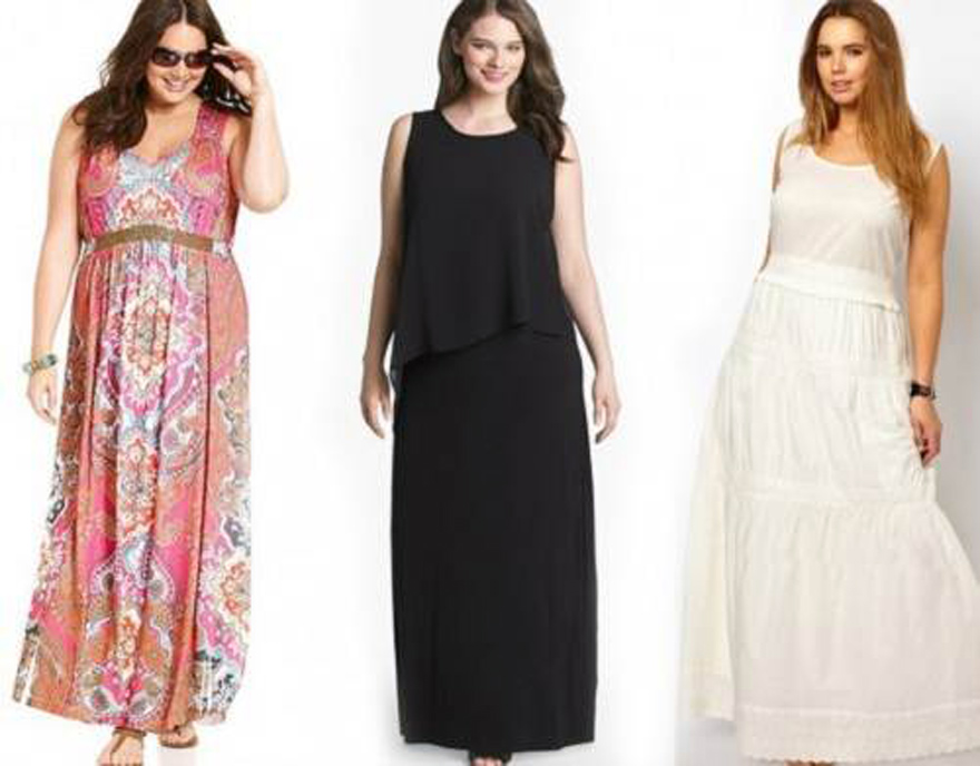 Maxi Dress Curvy Women Ideas
