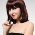 Medium Burgundy Brown Hair Pictures