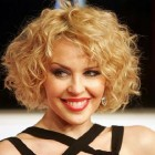 Medium Short Hair Curled Styles Pictures