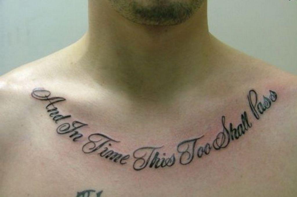 Men Design Good Tattoo Quotes Inofashionstyle Com