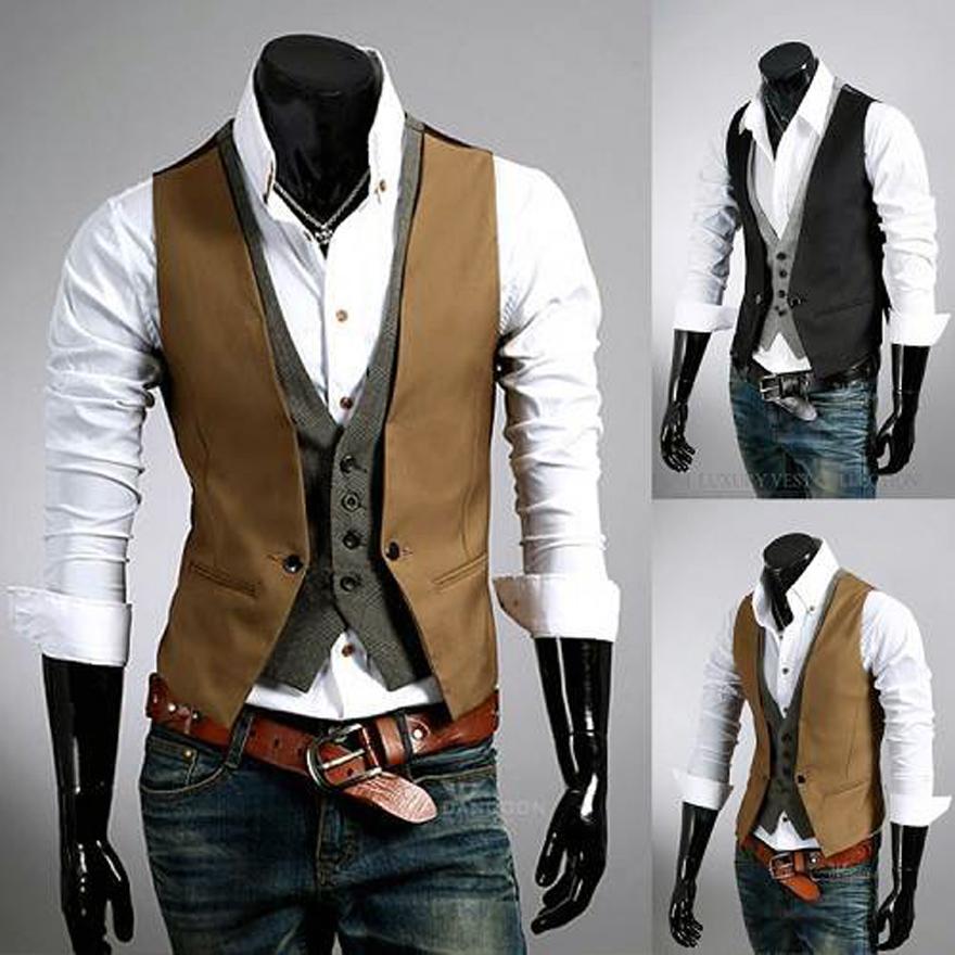 Mens Dress Vests Wedding - Inofashionstyle.com