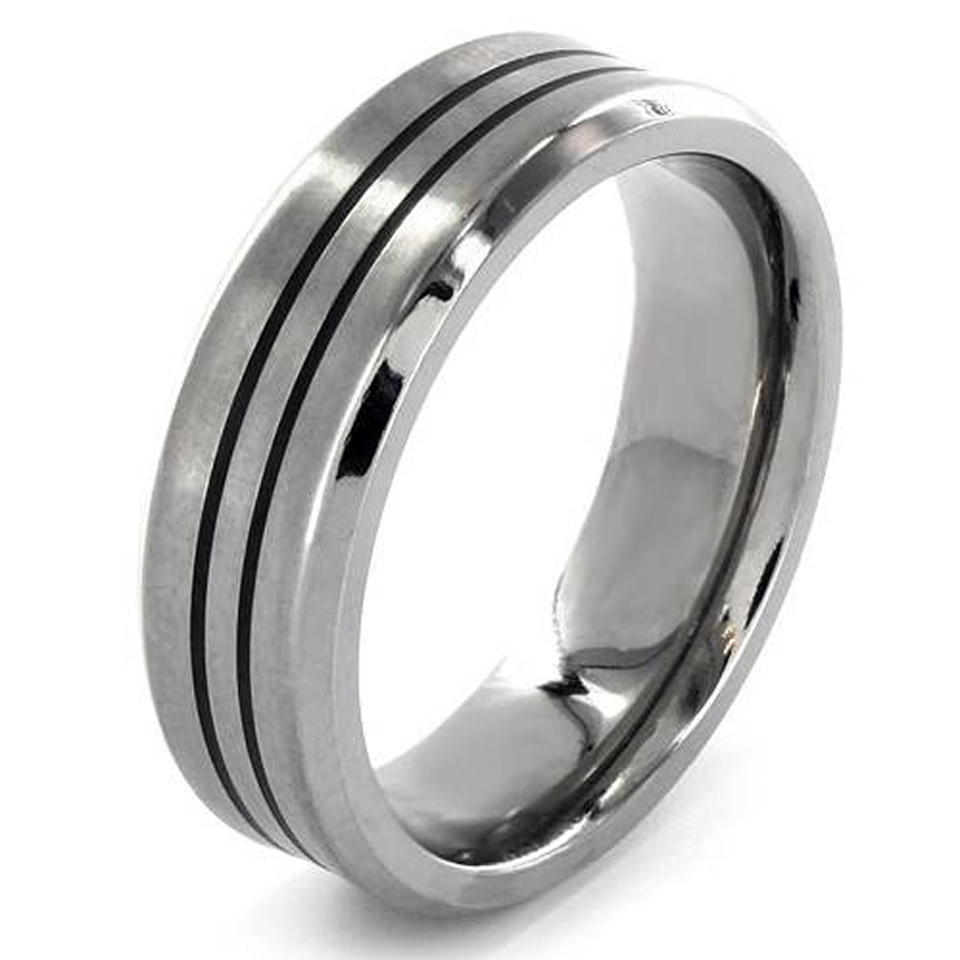 Mens Wedding Bands Palladium