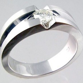 Mens Wedding Bands With Diamond Pictures