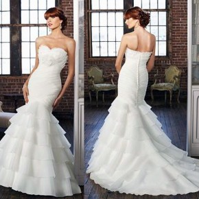 Mermaids Wedding Dresses Designs Pictures