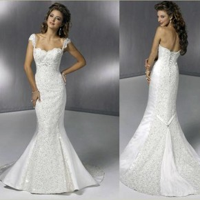Mermaids Wedding Dresses Ideas Pictures